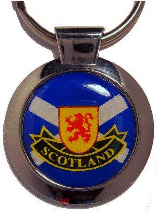 【最安値挑戦】 Scotland Roundal Scotland Keyring Metal Keyring B007OBL2BY B007OBL2BY, バルボラフットボール:309820d2 --- yelica.com