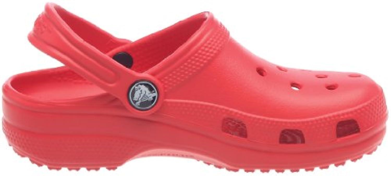 Crocs Junior Toddler Cayman Red 2 UK