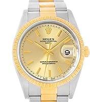 Rolex Date Automatic-self-Wind Male Watch 15223 (Certified Pre-Owned)