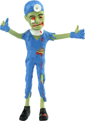Zombie Brain Surgeon (Bendable Action Figure)