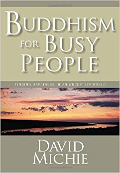 Book Buddhism For Busy People by Michie, David. (Snow Lion,2008)