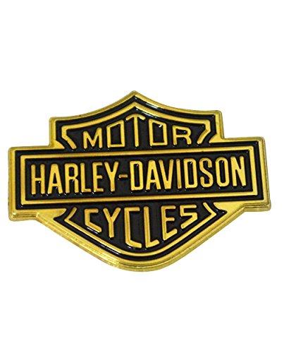 Emblem Gas Lid - NEW HARLEY DAVIDSON MOTORCYCLE GAS TANK LID FENDER EMBLEM LOGO DECAL