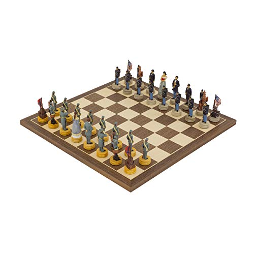 Regencychess The American Civil War Hand Painted Themed Chess Set by Italfama 2nd Edition ()