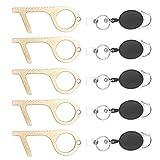 KeySmart CleanKey - Brass Hand Tool