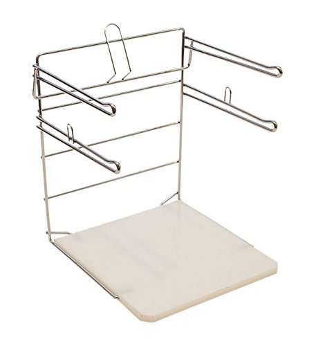 KC Store Fixtures 06134 Bag Stand for T Shirt - Plastic Bag Grocery Holder
