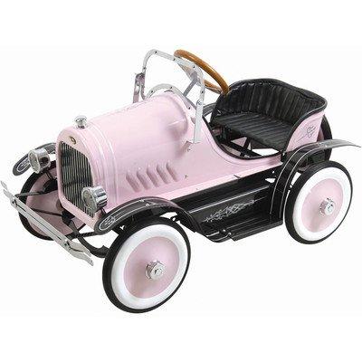 Pink Roadster Pedal Car - Kalee Roadster Pedal Car Color: Pink