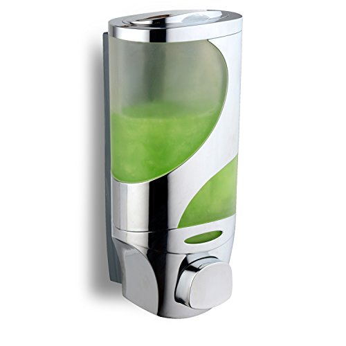 - HotelSpaWave Luxury Soap/Shampoo/Lotion Modular-design Shower Dispenser System (Pack of 1)