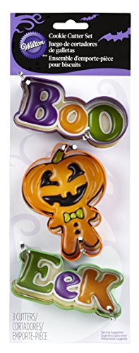 Wilton 2308-5083 Trick or Treat Cookie Cutter Set -