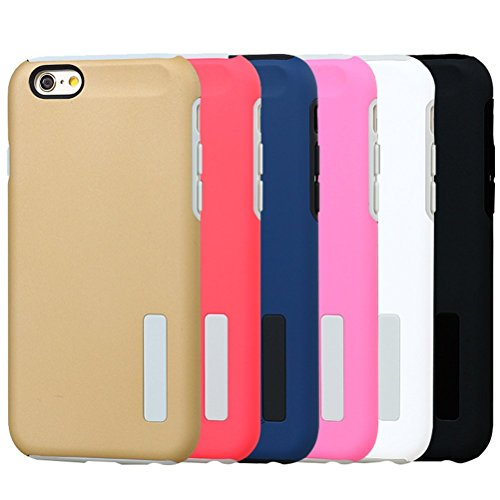 "HICASER iPhone 6S Hülle, Hybrid Dual Layer Case [Shock Proof] Drop Resistance TPU +PC Handytasche Schutzhülle für iPhone 6 6S 4.7"" Rosa"