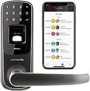 Ultraloq UL3 BT Bluetooth Enabled Fingerprint and Touchscreen Smart Lock | 5-in-1 Keyless Entry | Secure Finge