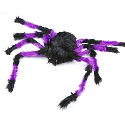 Charberry Spiders Halloween Party Haunted House Decoration Prop (Random color) (Halloween Haunted House Decorations)