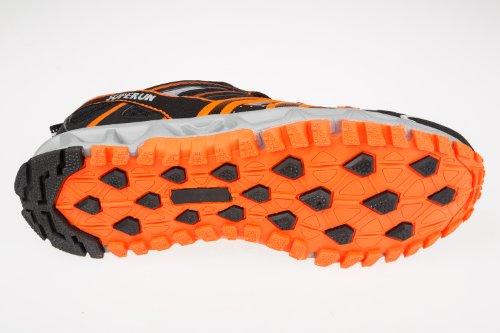 Unbekannt - Zapatillas para niño Negro - Noir - Negro/neón naranja