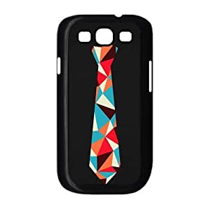 Colorful Tie Cool Black Fashion Hard Case Cover for Galaxy S3 I9300 by supermalls
