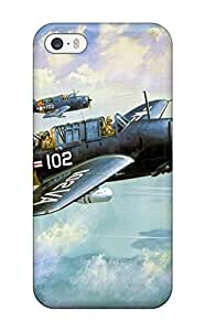 Iphone 5/5s Case Slim [ultra Fit] Aircraft Protective Case Cover