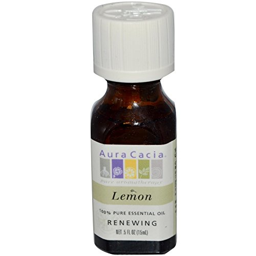 Aura Cacia Essential Oil Lemon, 0.5 - Aura Cacia Perfume Natural