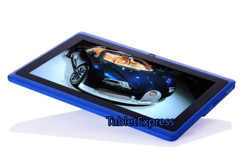 7'' Blue Google Android 4 0 8GB Allwinner A13 Tablet MID - Import It All