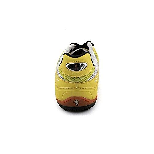 Calzado De Fútbol Kelme Star 360 Para Hombre Con Malla Metálica De Cuero Negro / Lima