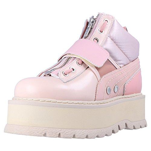 Fenty Puma Di Rihanna Sneaker Boot Strap Da Donna Damen Plateau Sneaker Rosa