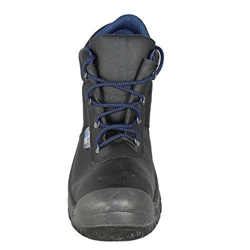 BS Safety Shoes - Calzado de protección de Piel para hombre Negro - negro