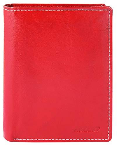 rosso Portafoglio per Akzent uomo 10x12 ta0qznwpx