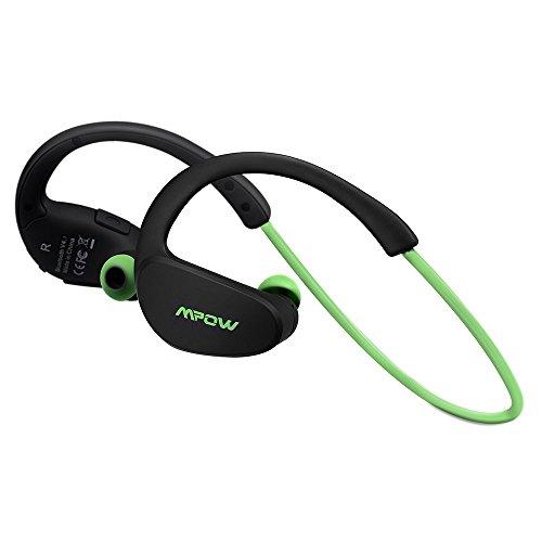 Mpow Cheetah Bluetooth 4.1 Wireless Sport Stereo Kopfhörer mit AptX Technologie für iPhone 7 6/6S 6 Plus/6S Plus 5S 5 5C 4S 4, Samsung Galaxy S7/S6 Edge S5 S4 Mini usw.(Grün)