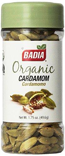 Badia Organic Cardamom, - Pods Green Cardamom