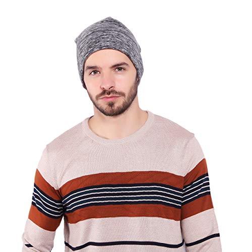 Morado antiviento invierno invierno unisex de polar de esquí de ligero Gris deporte ciclismo y sombrero forro de gorro Arcweg nqHgFTzw