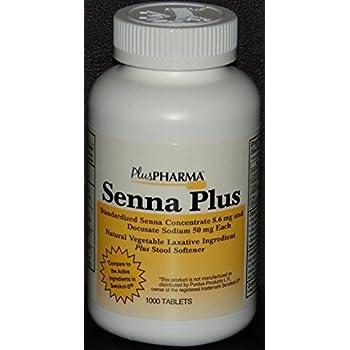 Amazon Com Senna 8 6 Mg Natural Vegetable Laxativ 1000