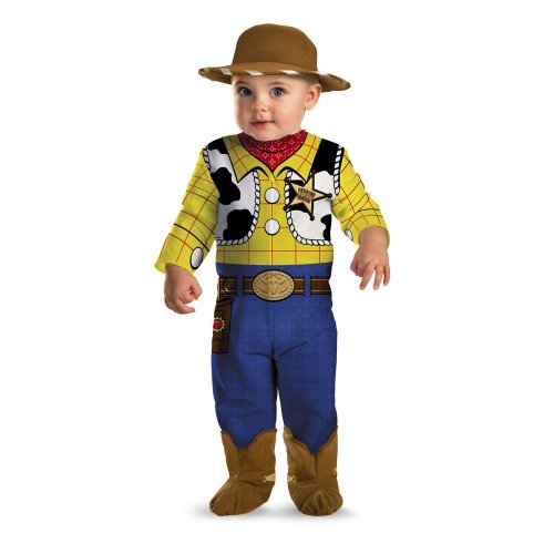 Disguise Disney Pixar Toy Story Costume Woody, Multi, 12-18 months (Baby Cowboy Costume)