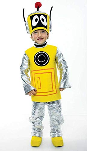 Yo Gabba Gabba Deluxe Plex Toddler Costume, -