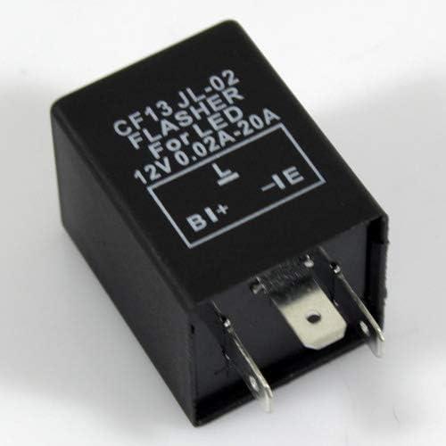 Gorgeri 3 Pin Auto Blinkrelais LED Blinker Relais Licht Blinker Hyper Flash OE Nummer 3CF13
