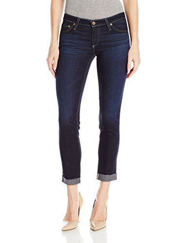 AG Adriano Goldschmied Women's The Stilt Roll Up Jean, Years/Wonder, 24