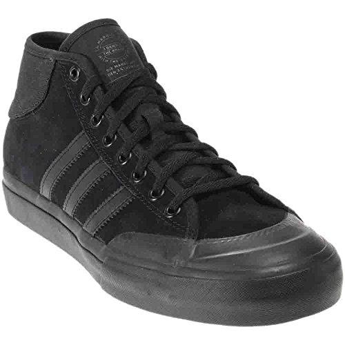 Originaux Adidas Mens Matchcourt Baskets Mi Mode Noir / Noir / Noir