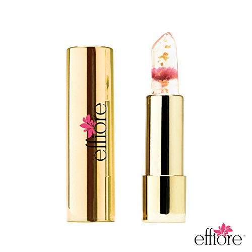 Effiore Lipstick - Color Changing Lip Gloss with Compact Case (Bubblegum Pink)