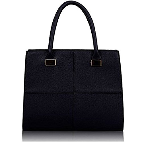 Tote Style 4 Shoulder Women Ladies Satchel Celebrity Leather Crossbody Navy Satchel Handbag Style Bag Style Celebrity AA8qR6w