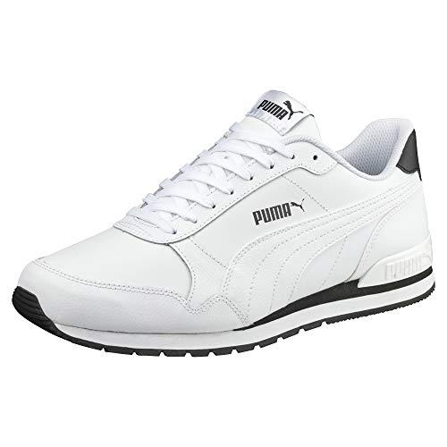 (PUMA ST Runner v2 Full L Low-Top Sneakers, White White, 5.5 UK)