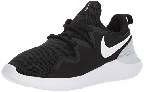 Nike Women's Tessen Running Shoe, Black/White-Pure Platinum, 5 Regular US