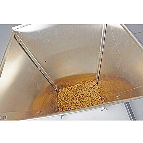 HomEnjoy Grain Crusher Hand Grinder Food Grade Grain Crusher Granulator Grinder High Power Crusher Manual Grain Stainless steel Food Crusher Household DY168 3.4kg Silver by HomEnjoy Kitchen (Image #2)