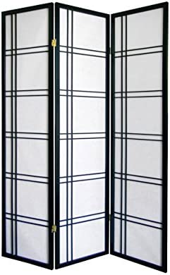 Girard 3-Panel Room Divider Kitchen NoPart R542BK