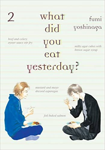 Book What Did You Eat Yesterday? Volume 2