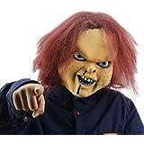 Xiao Chou Ri Ji Mask Halloween Props Zombie Scary monster Movie Dolls Vampire Costume scary clown masquerade
