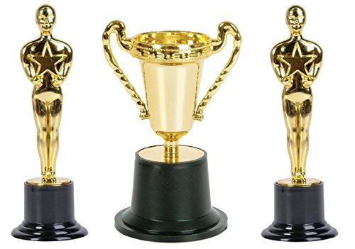 Oscars Award Winning Gold Trophy's