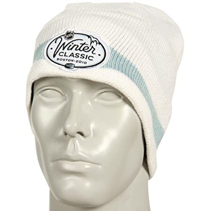 Image Unavailable. Image not available for. Color  Reebok 2010 NHL Winter  Classic White Event Knit Beanie 70a1bc6cf51