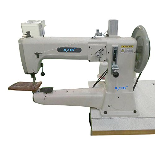 AXIS TSC-441 Semi-Long Cylinder-Bed, 1-Needle, Lockstitch Machine With Large Shuttle-Hook For Extra Heavy-Weight Materials Unison-Feed Upholstery Sewing Machine Head Only by AXIS