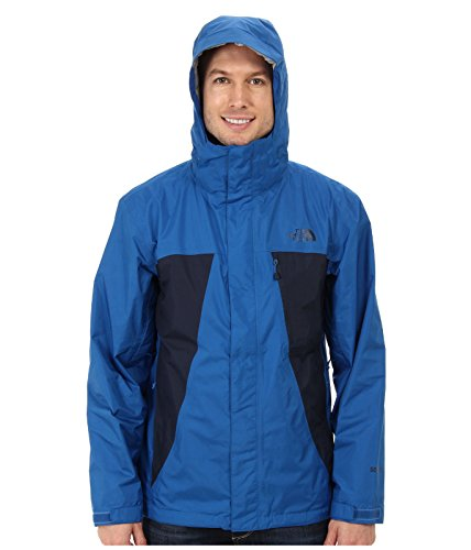 The North Face Men's Mountain Light Jacket, Snorkel Cosmic Blue, LG (Mountain Face Light North Jacket)