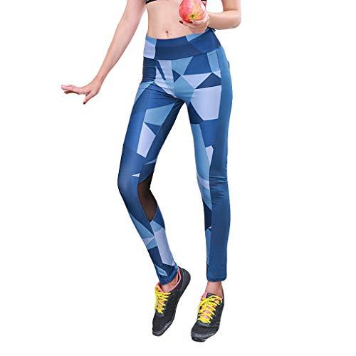 cc56fe75a3 TOTOD Big Women Yoga Running Sport Pants High Waist Workout Slim Leggings  Fitness Trousers