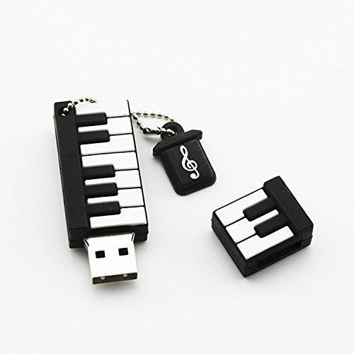 d-click TM高品質4 GB / 8gb / 16gb / 32gb / 64gb /クールUSB高速フラッシュメモリスティックペンドライブディスク 18GB 6451230 B01D3AX8HK 18GB|Piano Piano 18GB