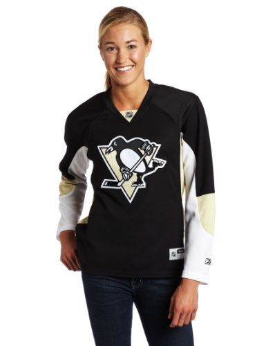 NHL Women's Pittsburgh Penguins Premier Jersey, Black, X-Large