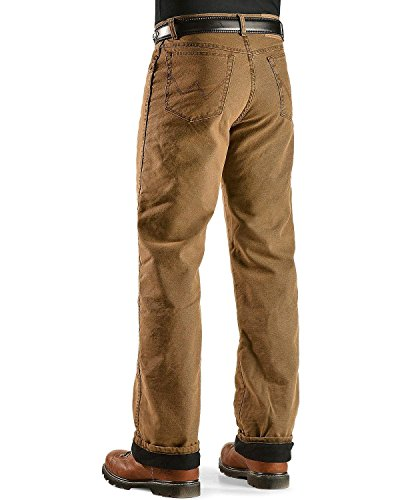Wrangler Men's Rugged Wear Woodland Thermal Jean ,Night - Woodland Thermal