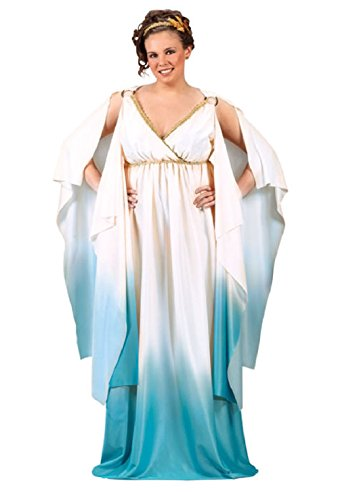 Greek Goddess Plus Size Halloween (Goddess Stretch Costumes)